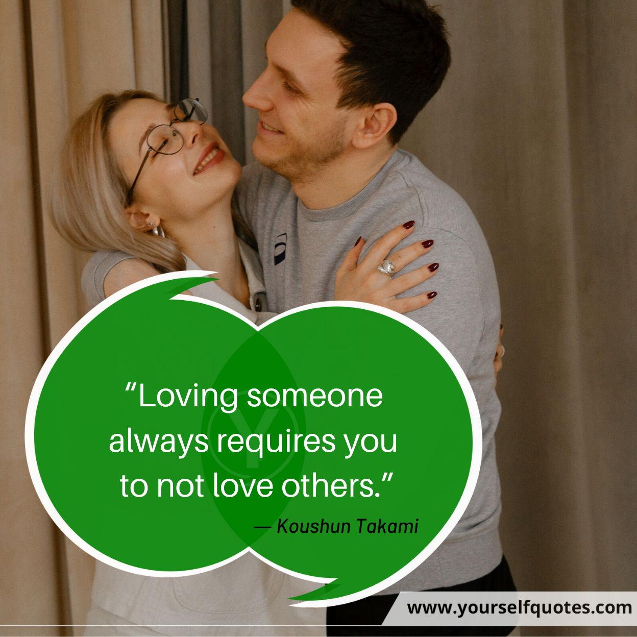 Inspiring Loving Quotes