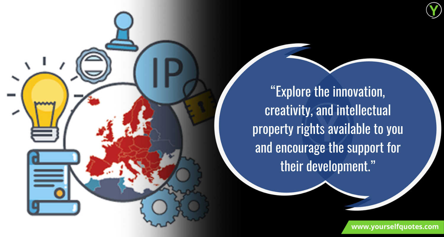 Intellectual Property Day Quotes