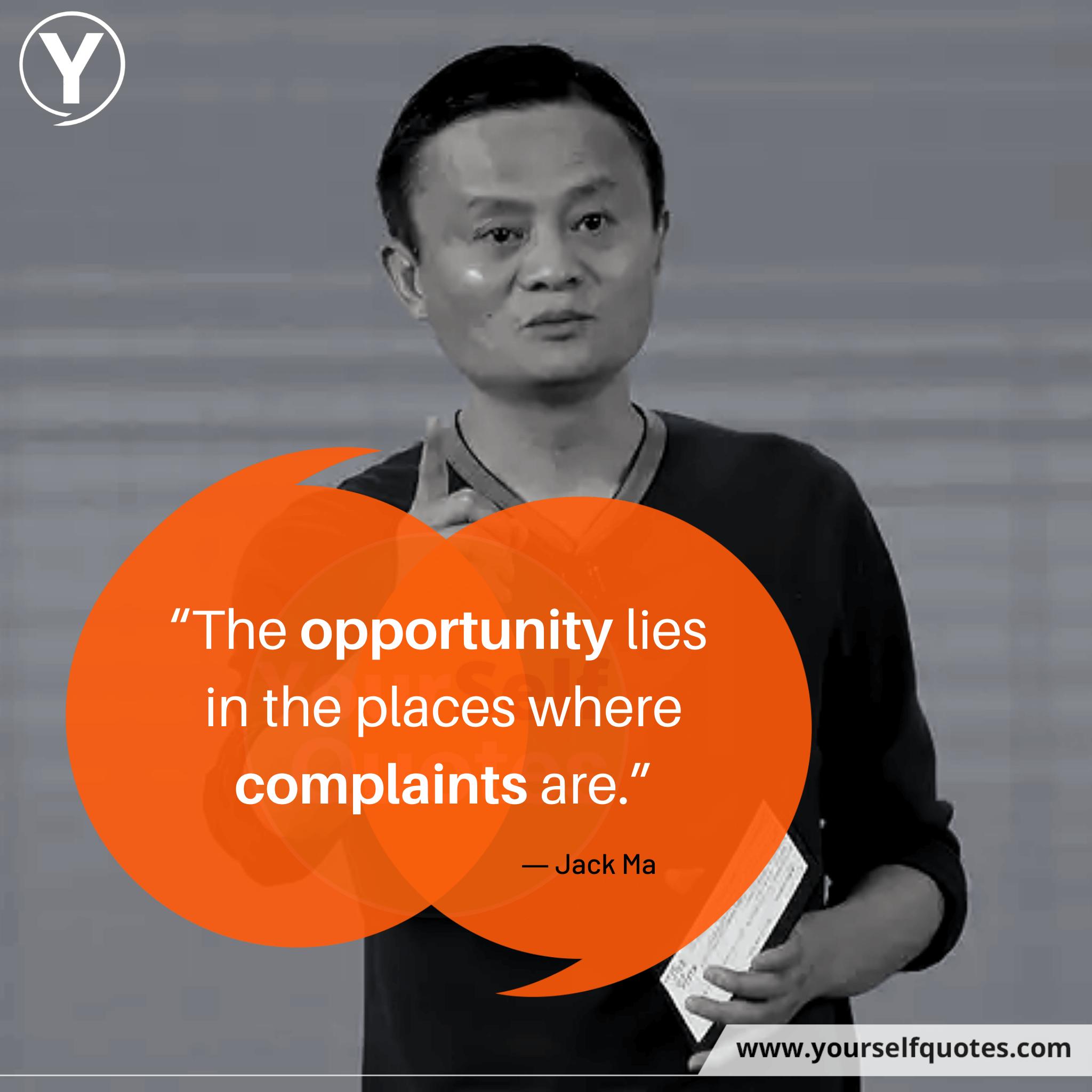 Kutipan Peluang Jack Ma