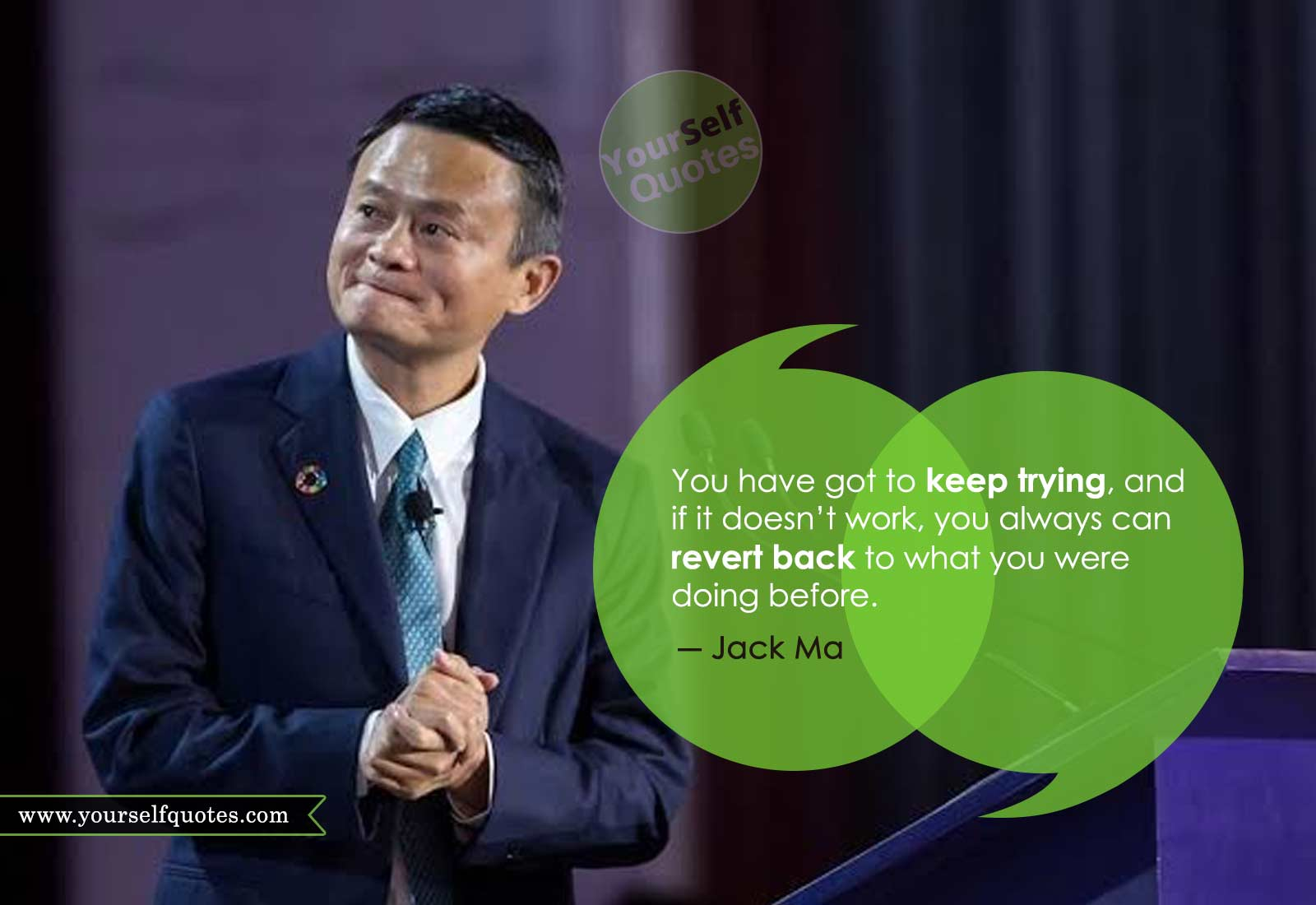 Jack Ma Quotes on Work
