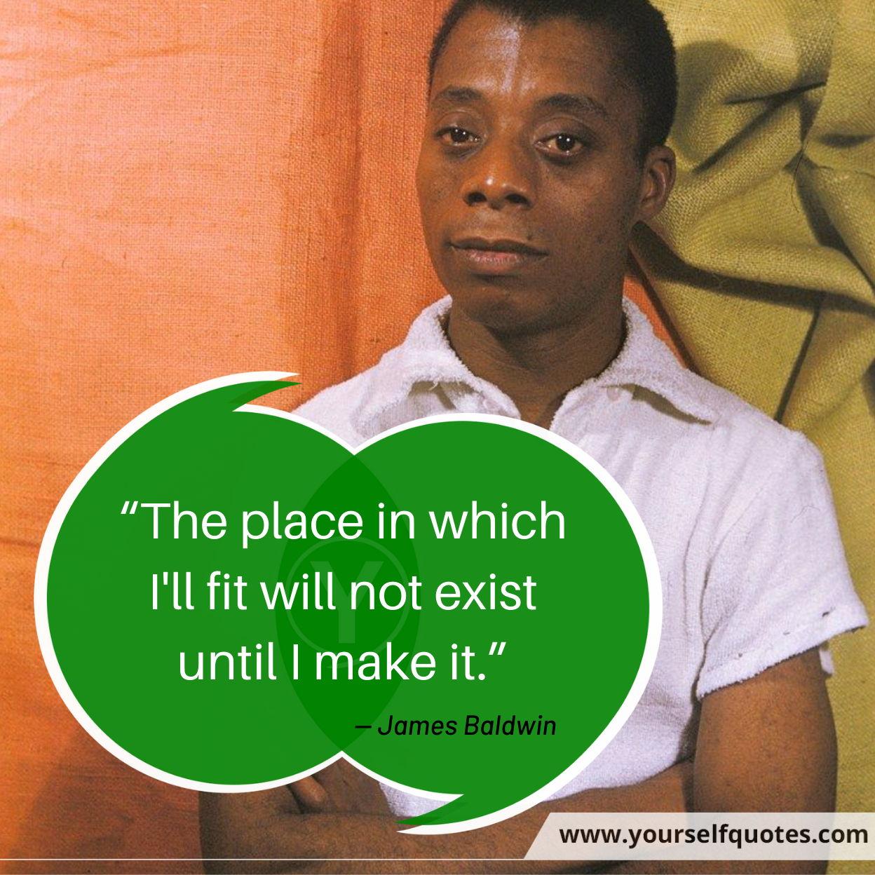 James Baldwin Quotes Freedom