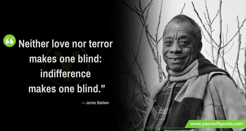James Baldwin Quotes Love