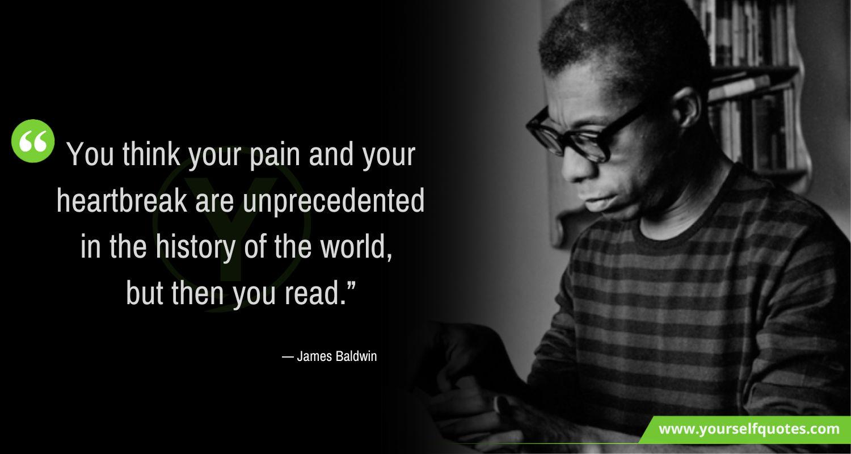 James Baldwin Quotes on Life