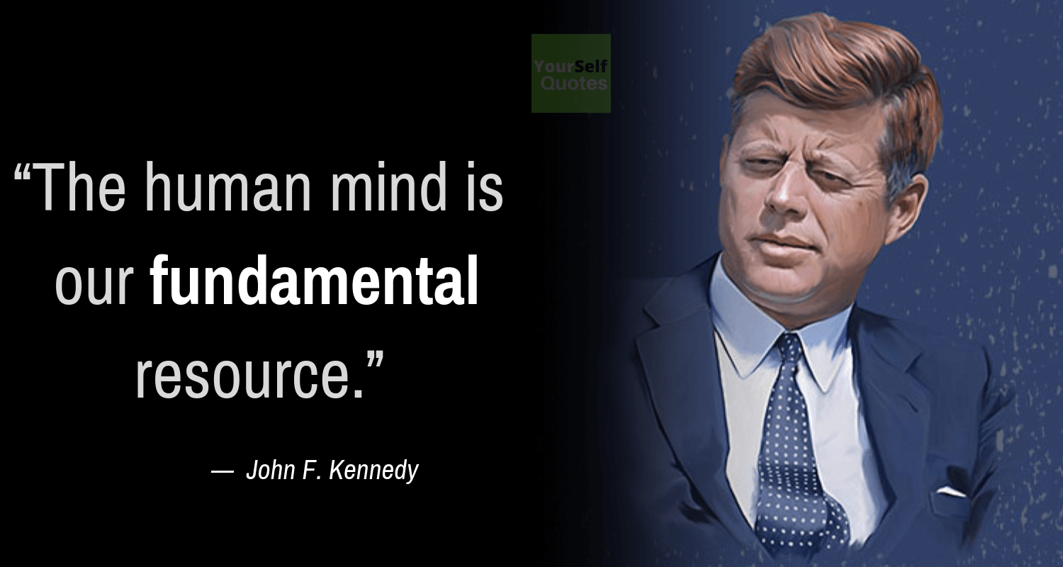 John F. Kennedy Sayings