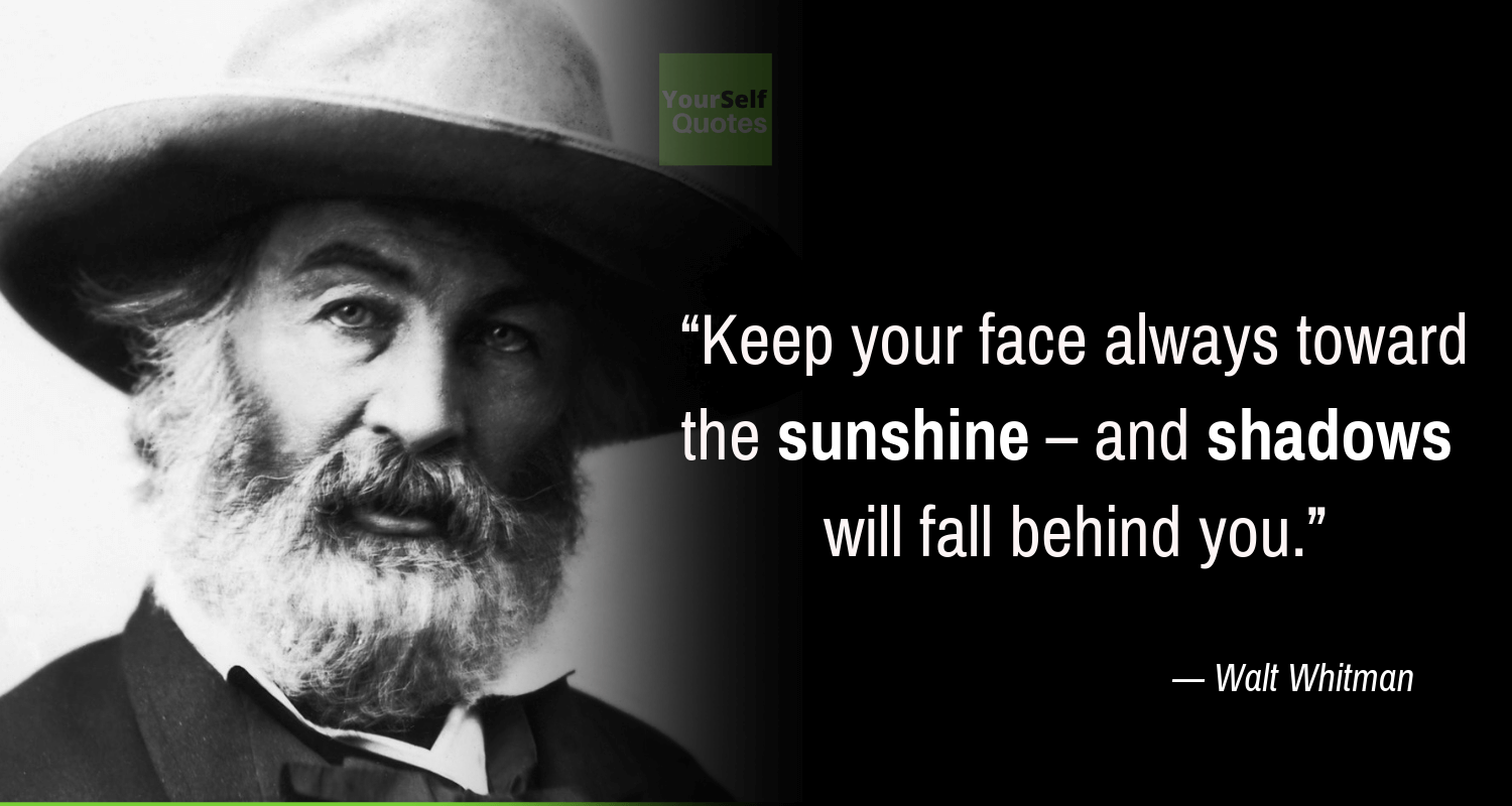 Keep Moving Quotes by Walt Whitman