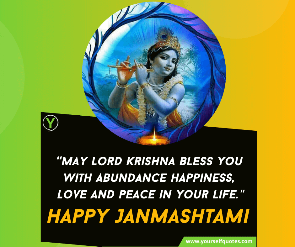 Krishna Janmashtami Wishes Images