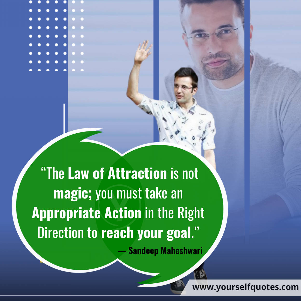 Law of Attraction Quotes by Sandeep Maheshwari
