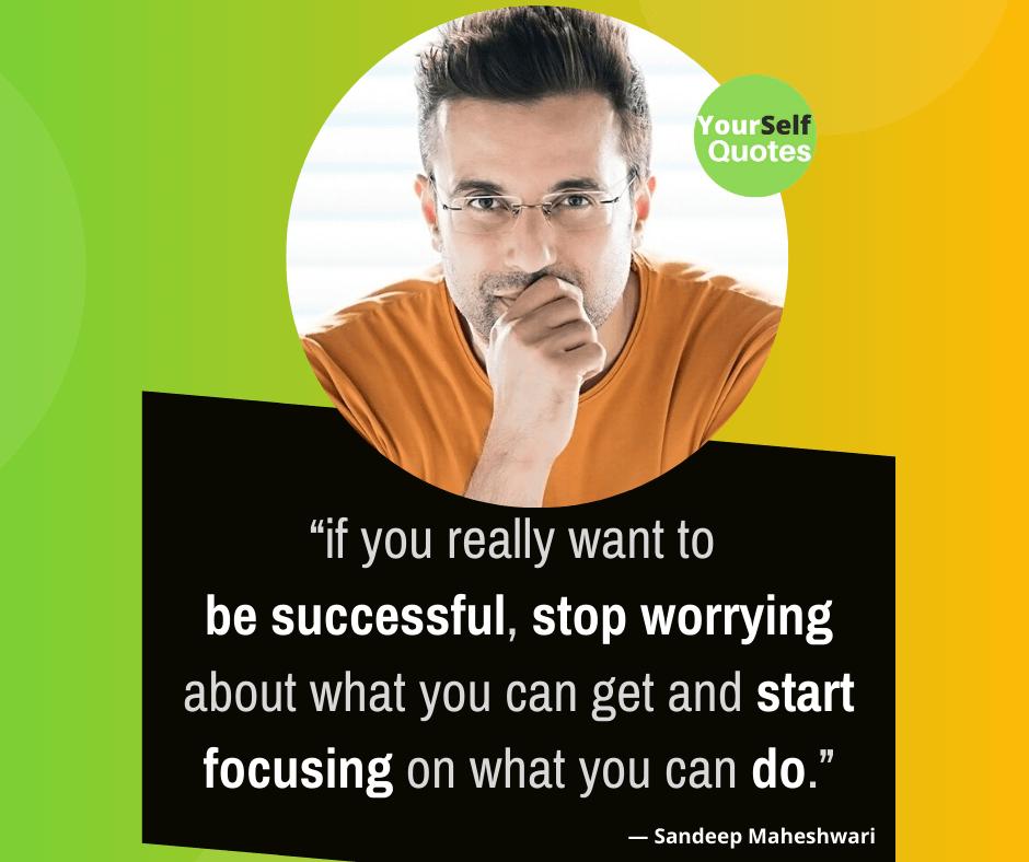 Life Quote From Sandeep Maheshwari