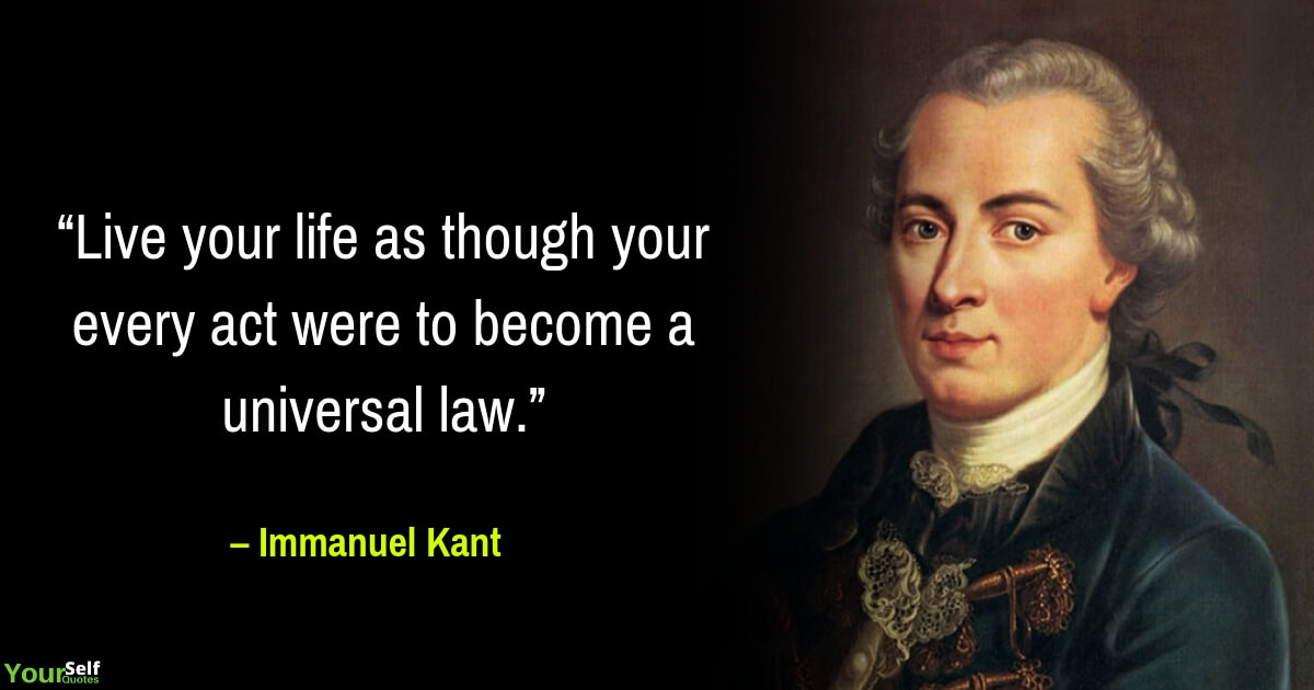 Life Quotes by Immanuel Kant