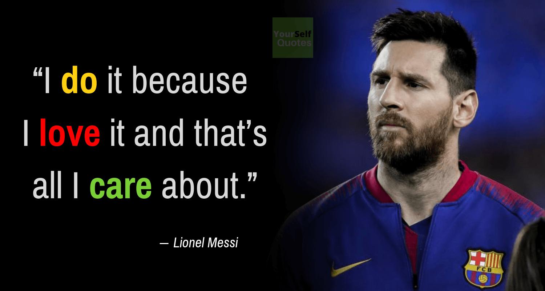 Best Lionel Messi Quotes