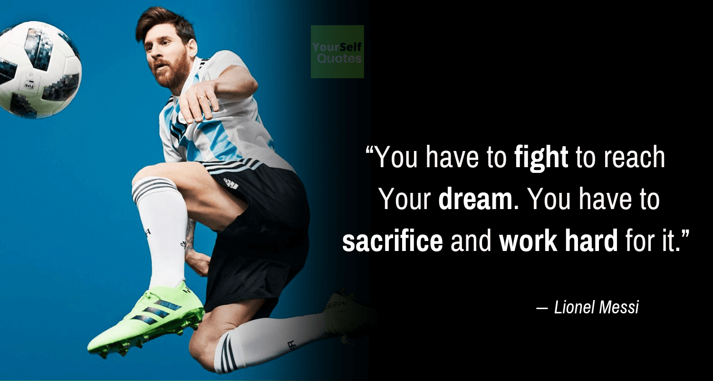 Kutipan Lionel Messi tentang Mimpi