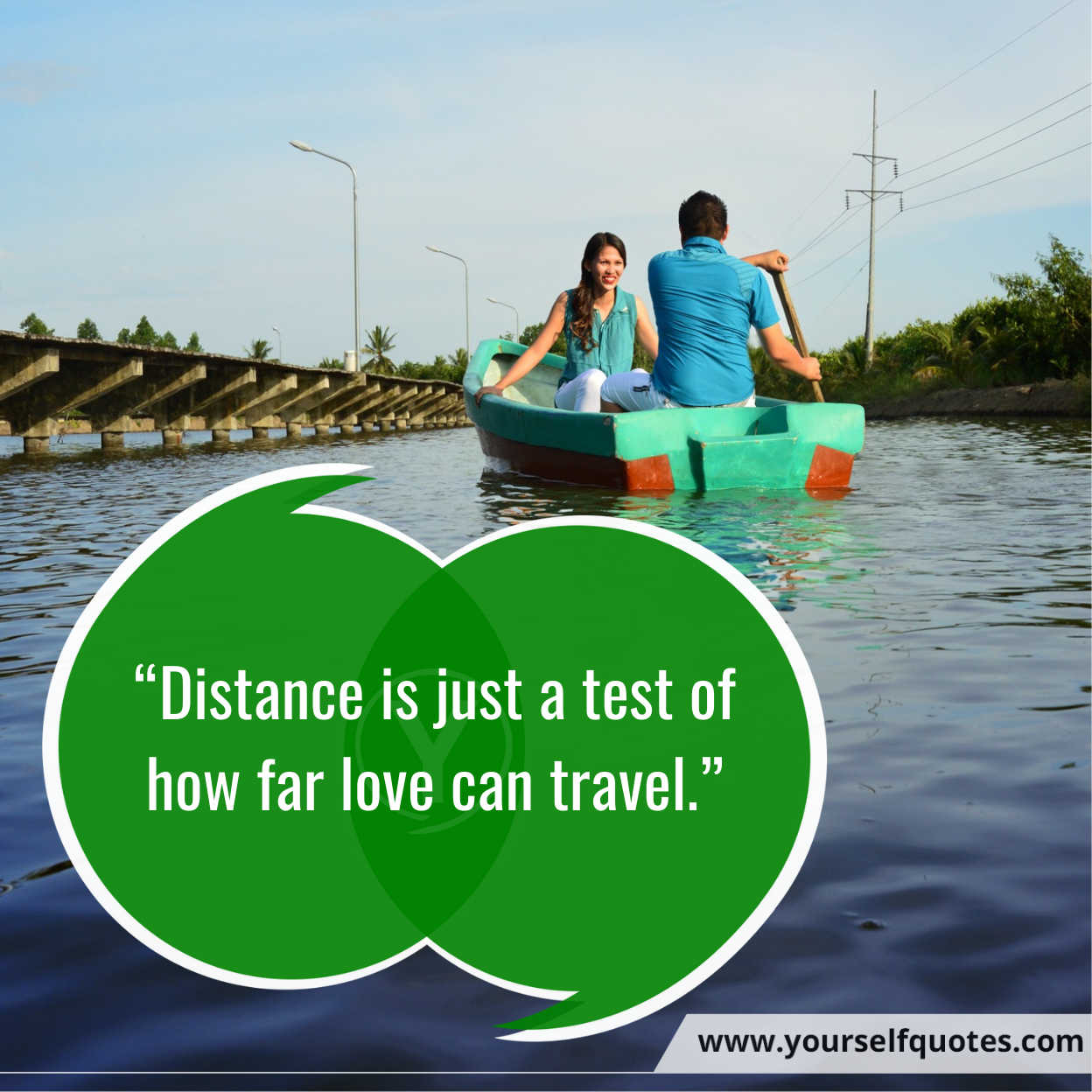 Long Distance Quotes Wallpaper