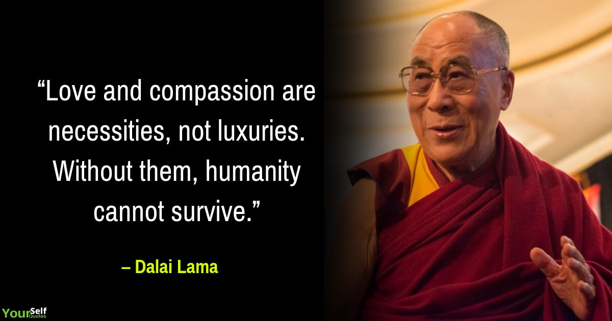 Love Quotes by Dalai Lama