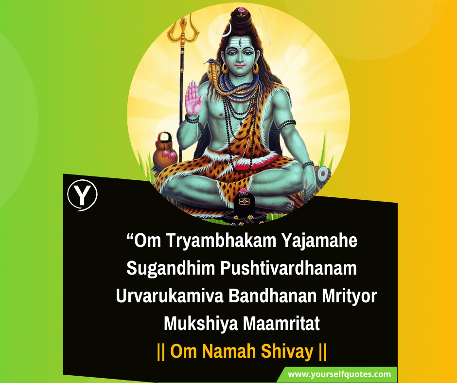 Mahadev Mantra Quotes Images