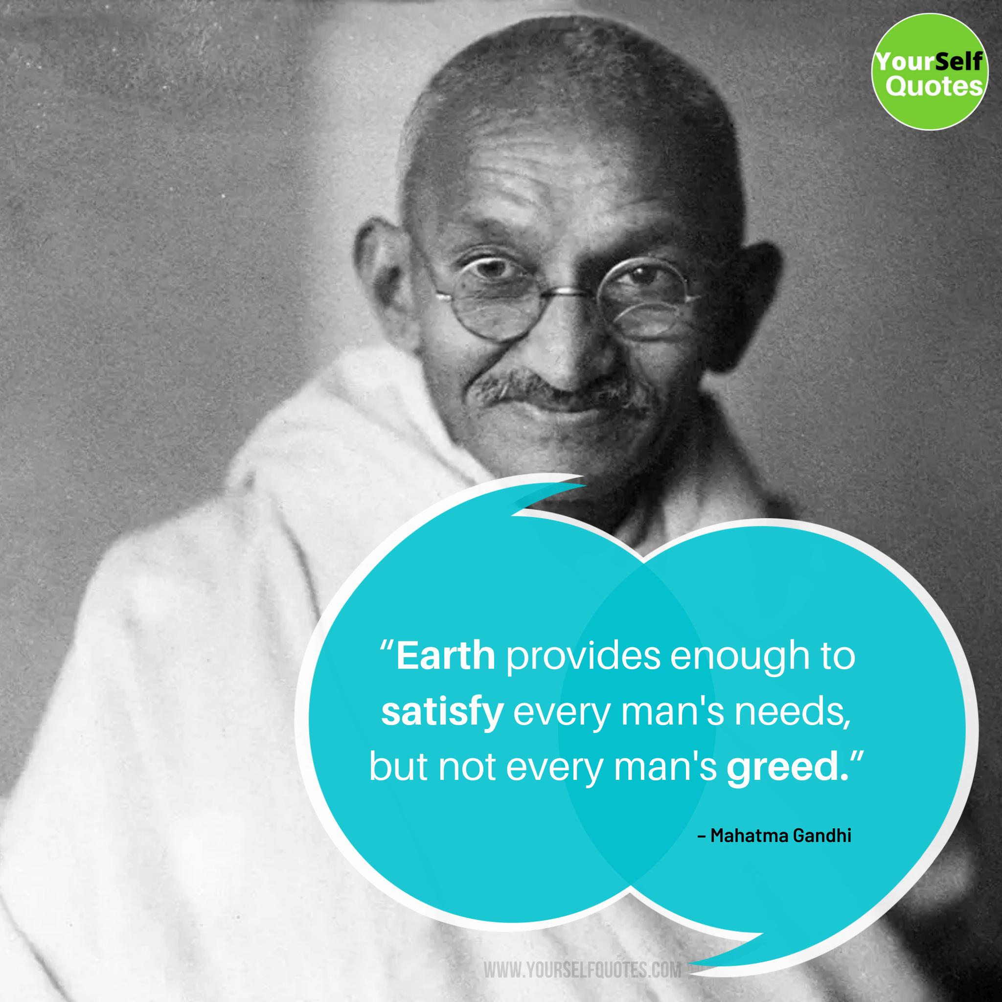 Mahatma Gandhi Images Quotes