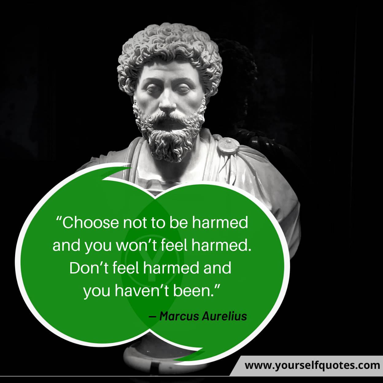 Marcus Aurelius Quotes Photos