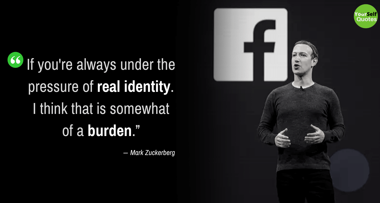 Mark Zuckerberg Best Quotes Images