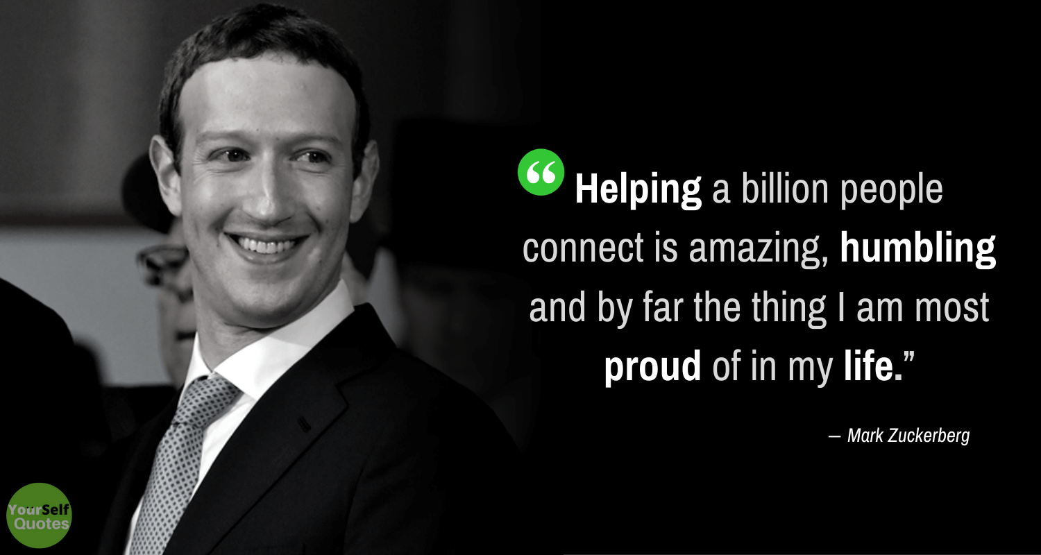 Mark Zuckerberg Life Quotes Photos