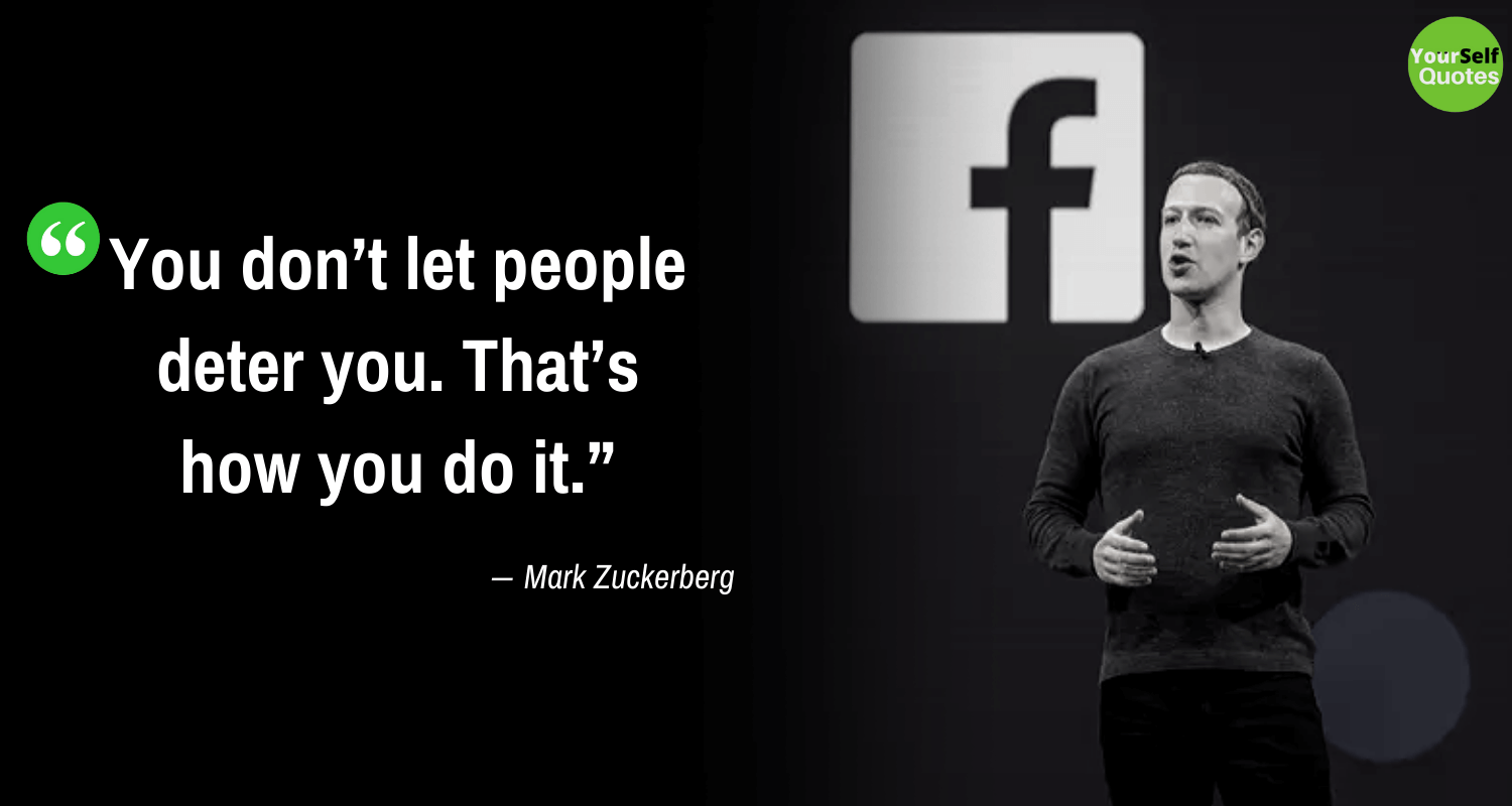 Mark Zuckerberg Quote Images Thoughts