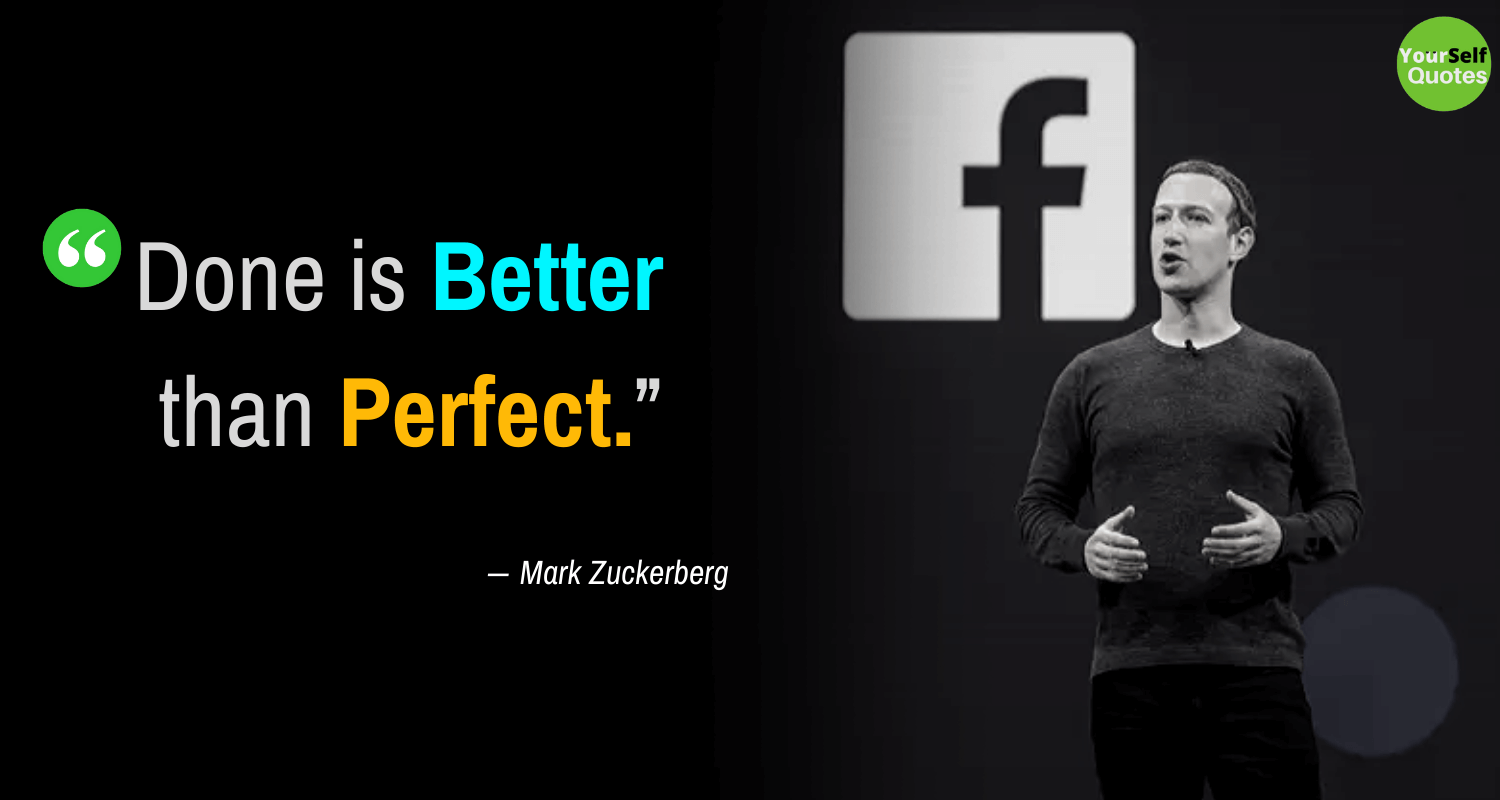 Mark Zuckerberg Quote Thoughts Images