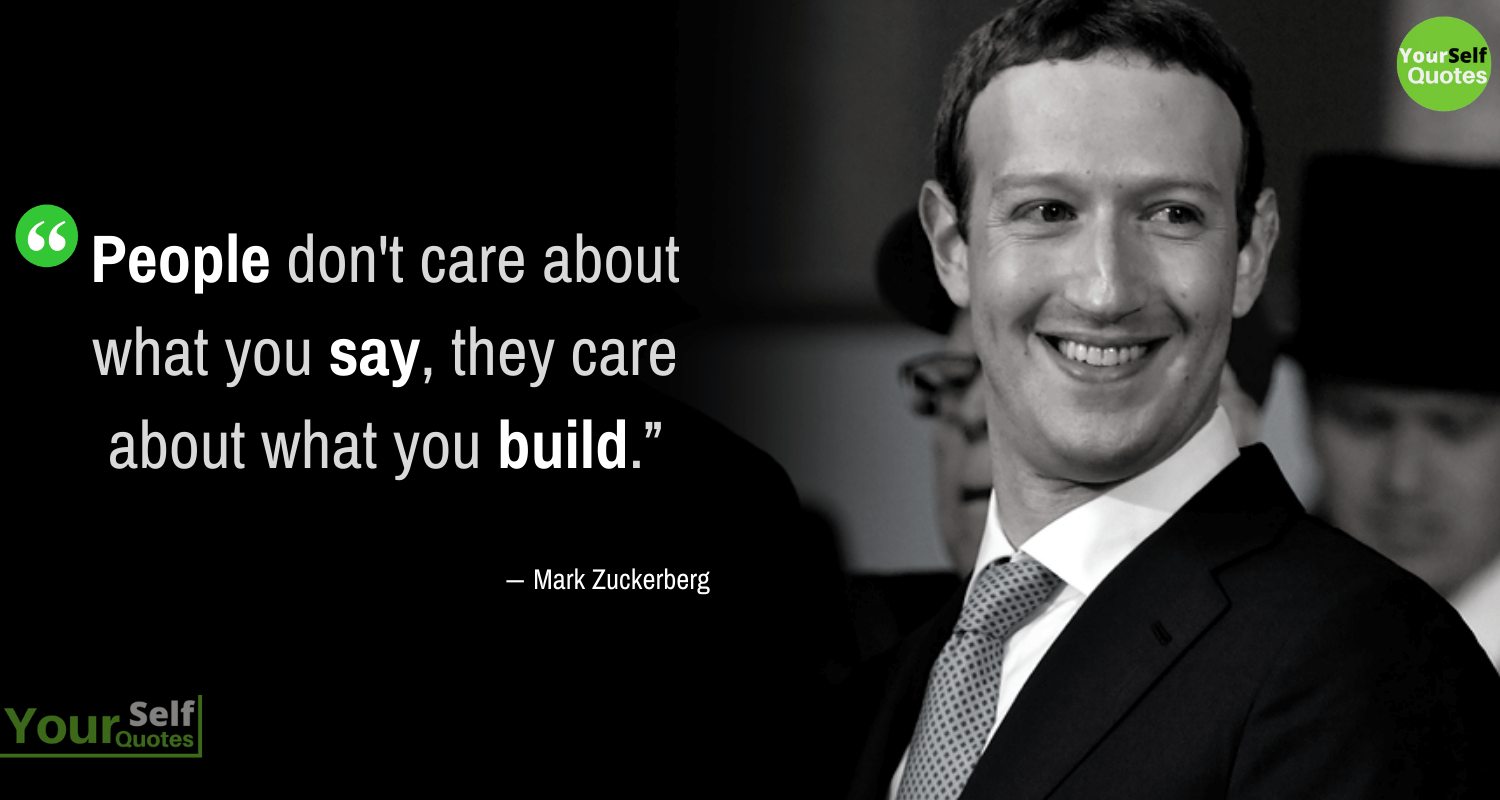 Mark Zuckerberg Quotes Images