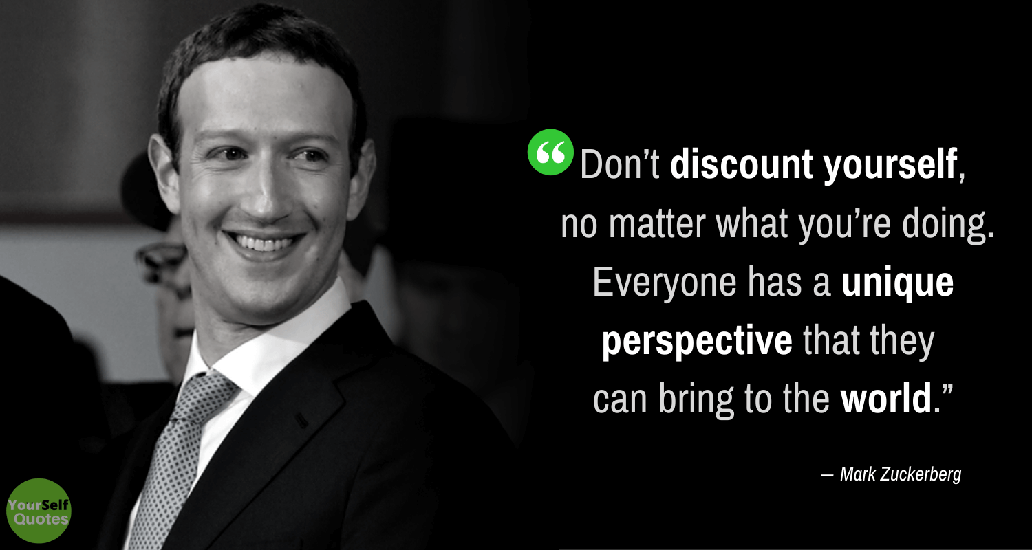 Mark Zuckerberg Yourself Quotes