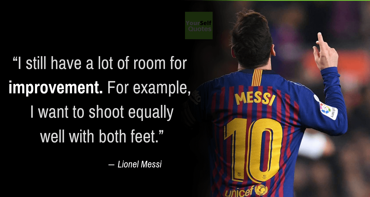Messi Quotes Images
