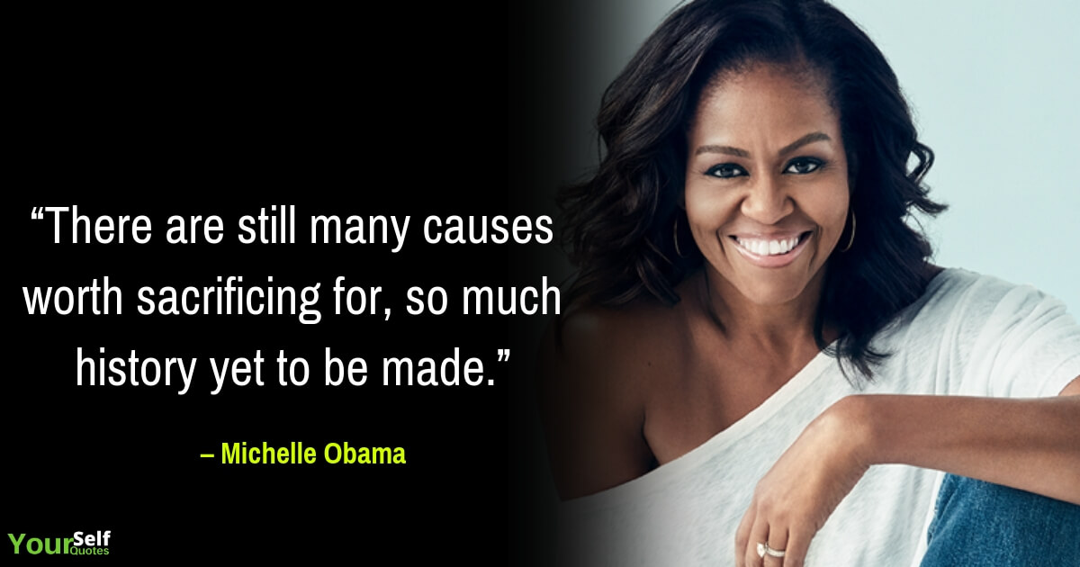 Michelle Obama Quotations