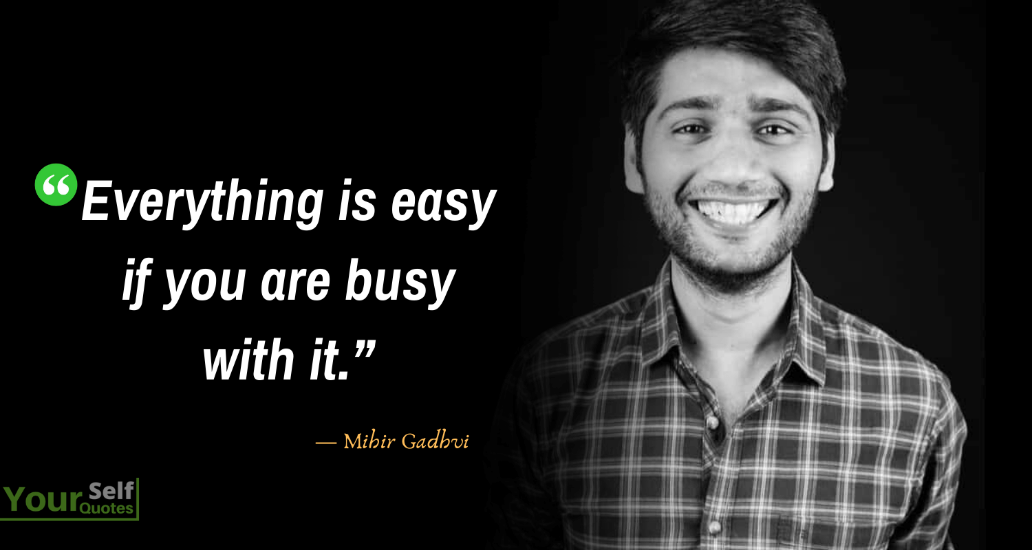 Mihir Gadhvi Best Quotes Images