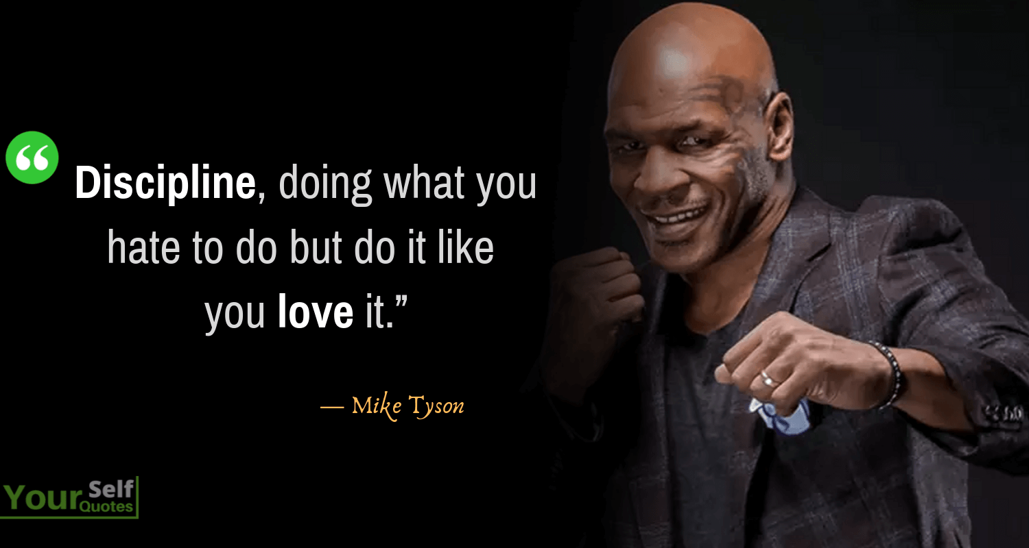 Mike Tyson Quotations