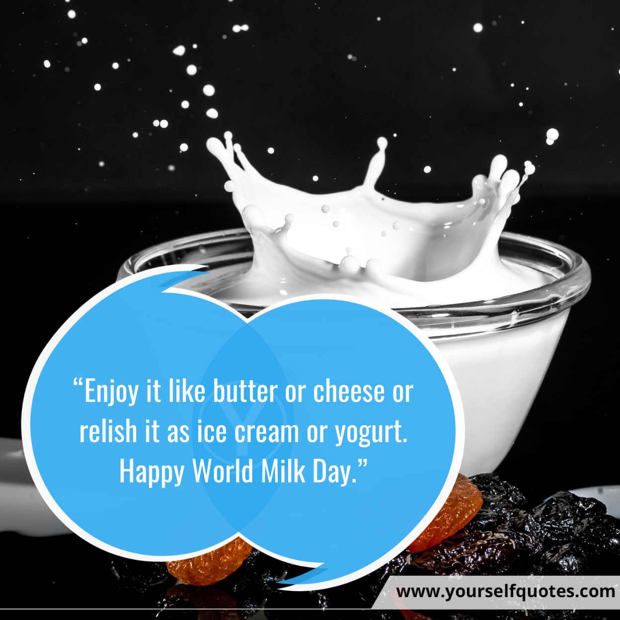 Milk Day Best Messages