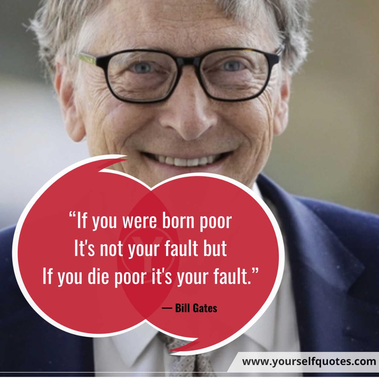 Kutipan Millionaires oleh Bill Gates