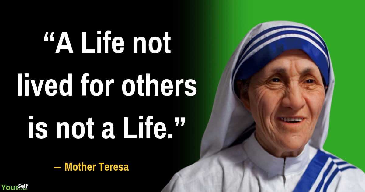 Mother Teresa Quote on Life
