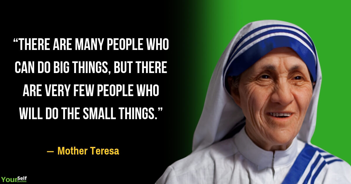 Mother Teresa Quotes and Sayings