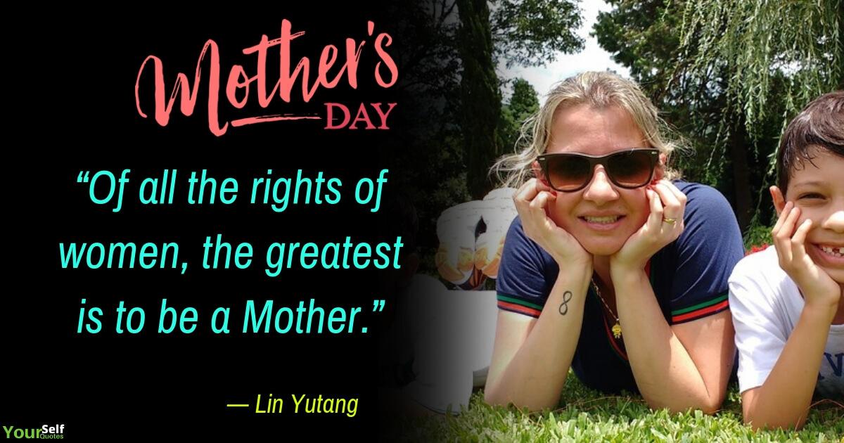 Kutipan Hari Ibu oleh Lin Yutang