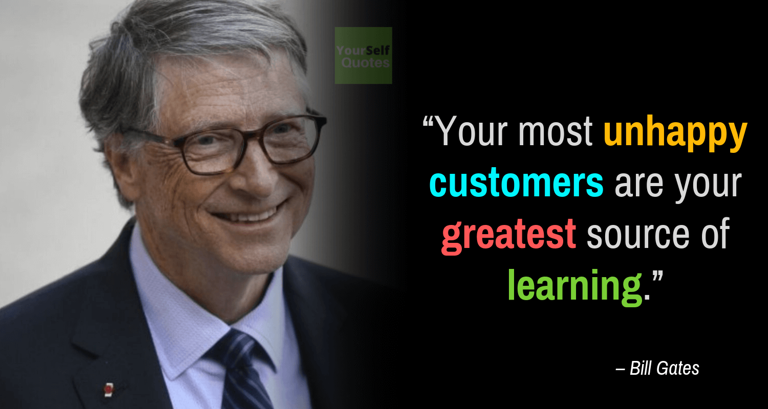 Motivational Bill Gates Quote