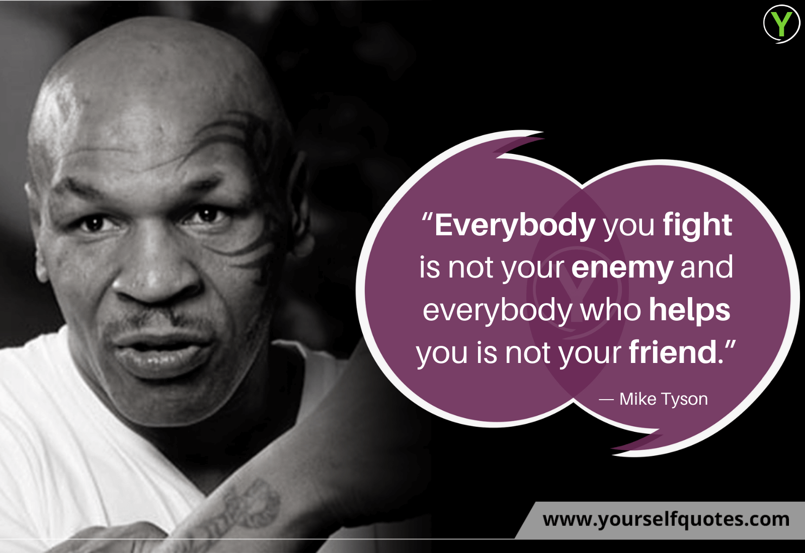 Motivational Mike Tyson Quotes Images