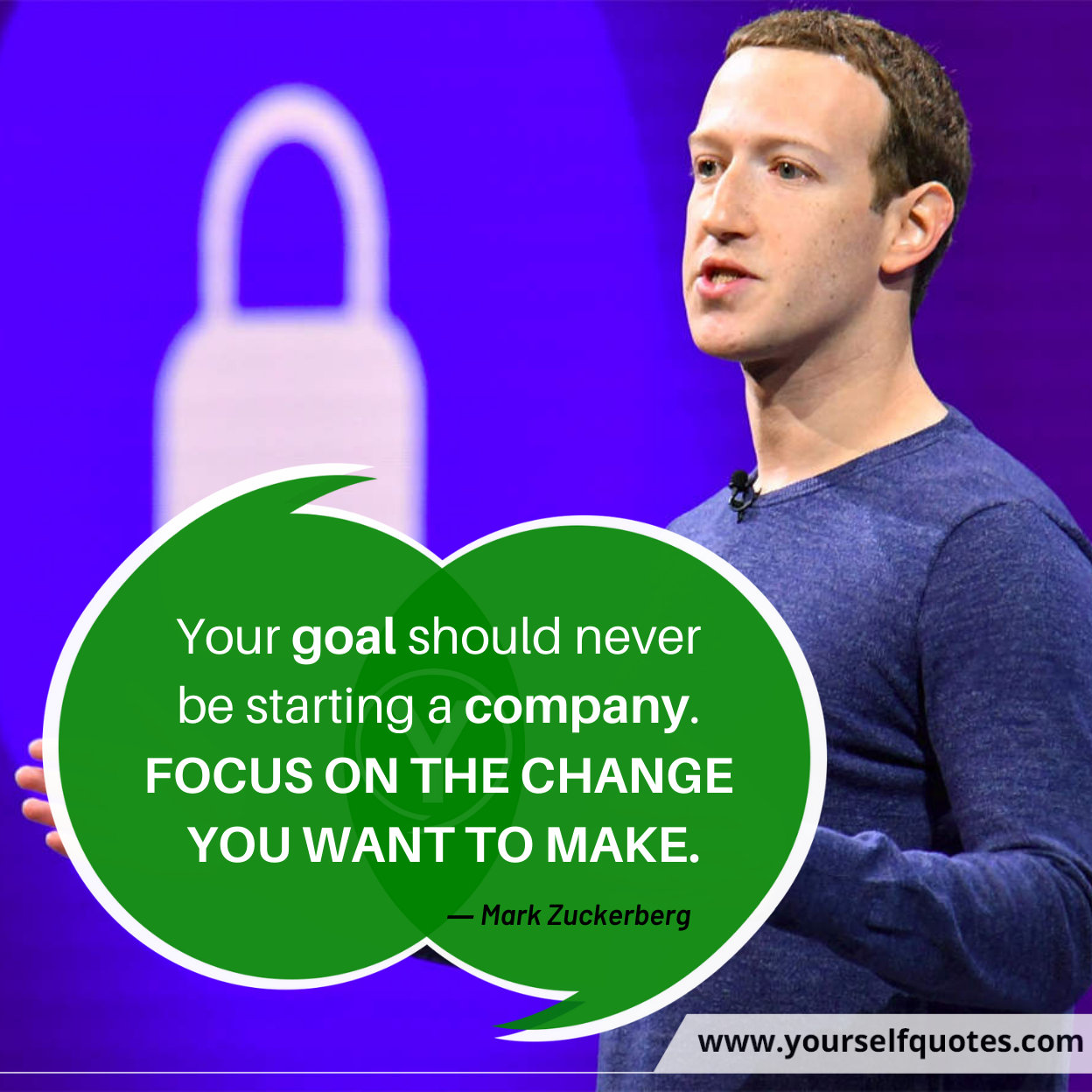 Motivational Quotes Images by Mark Zuckerberg