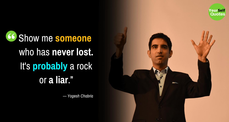 Motivational Yogesh Chabria Quotes