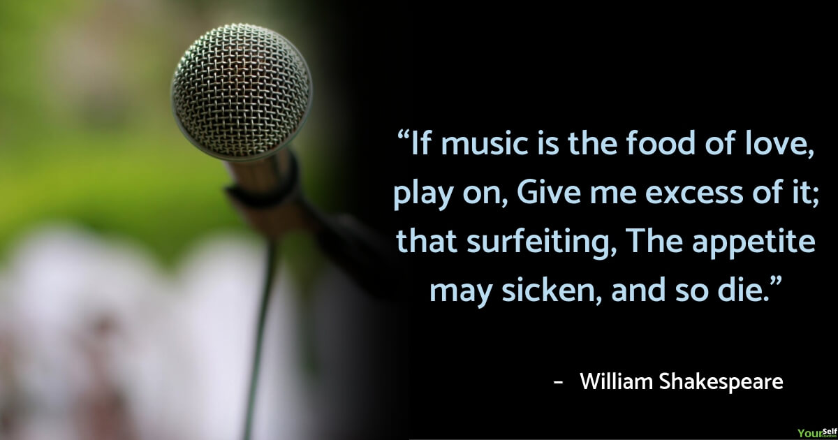 Music Quotes by William Shakespeare