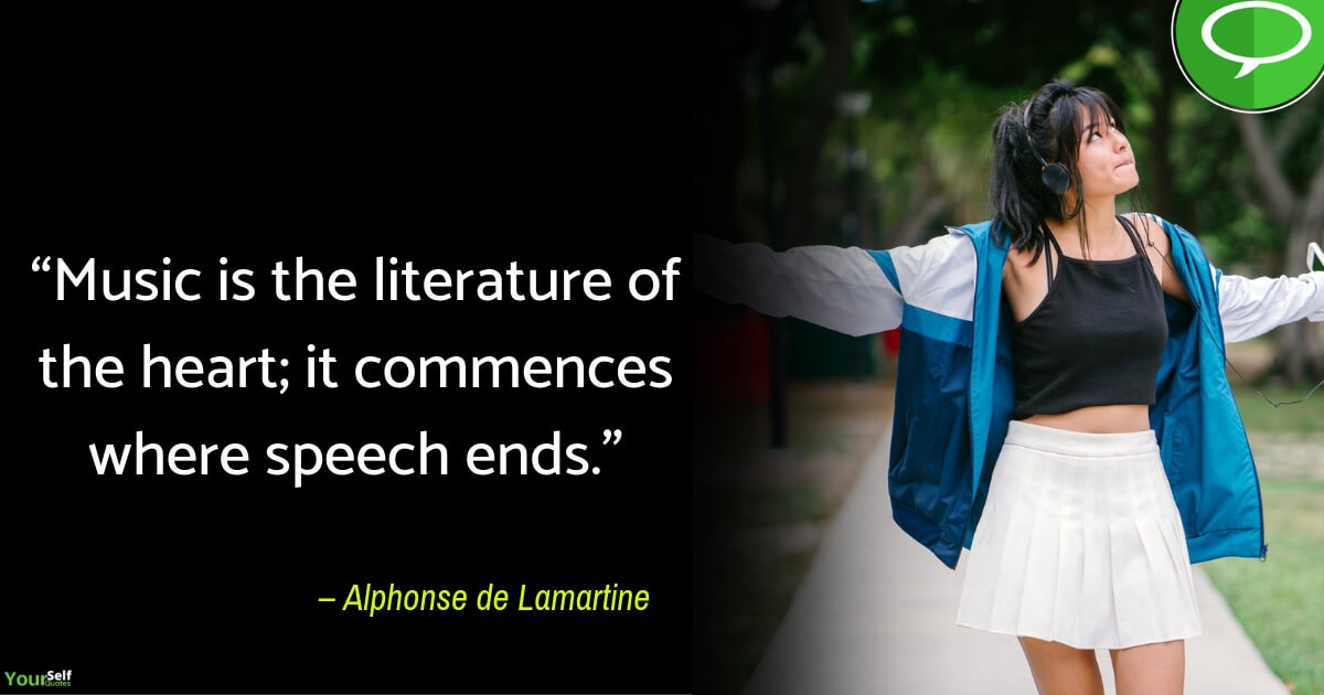 Music Quotes by Alphonse de Lamartine