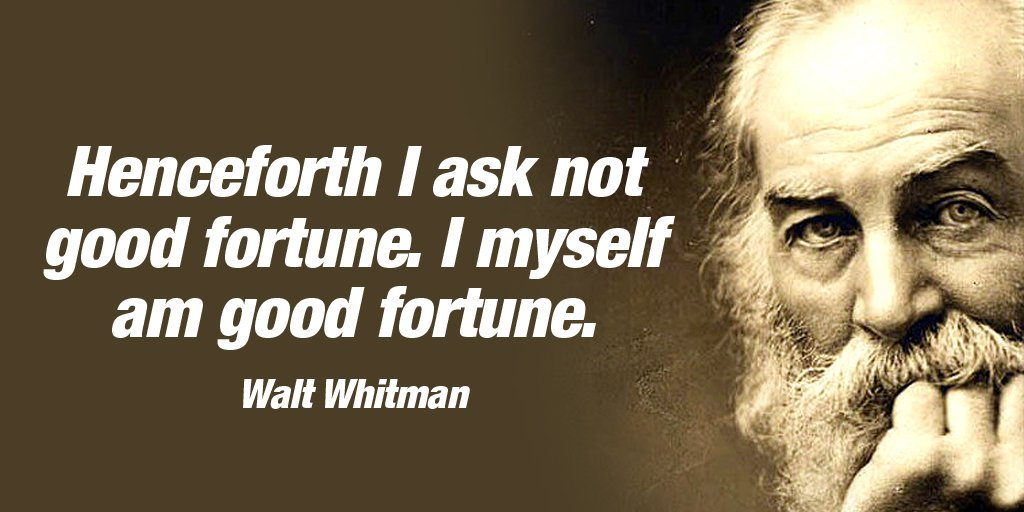 MySelf Quote by Walt Whitman