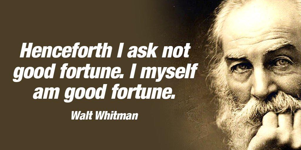 MySelf Quote by Walt Whitman