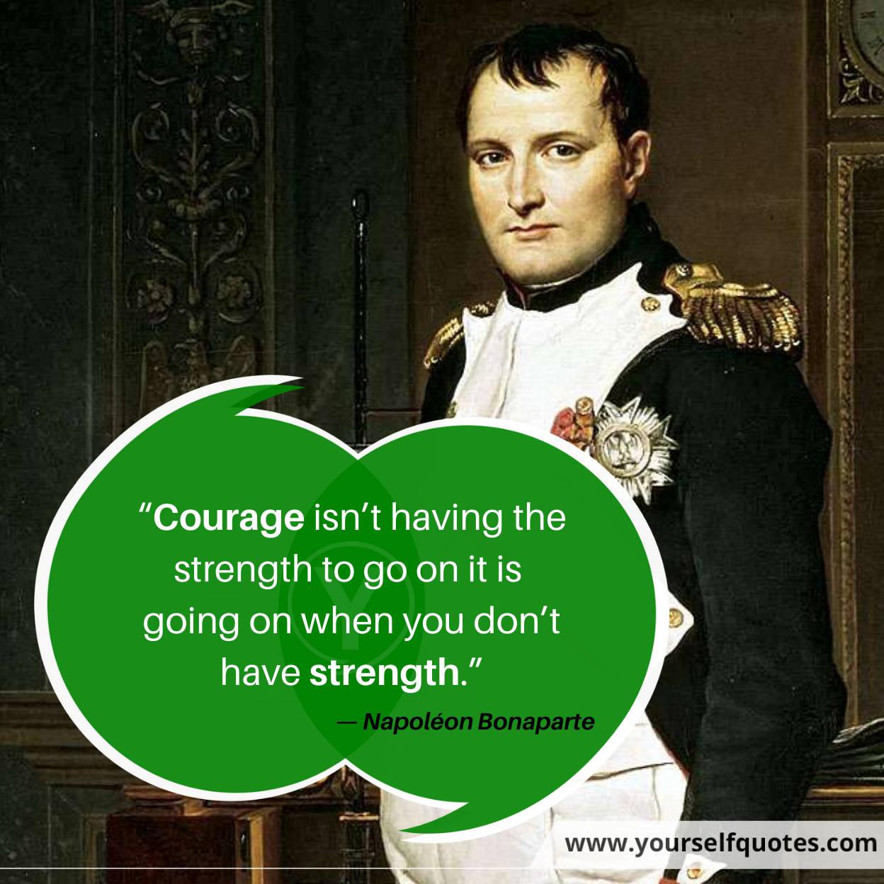 Napoléon Bonaparte Quotes