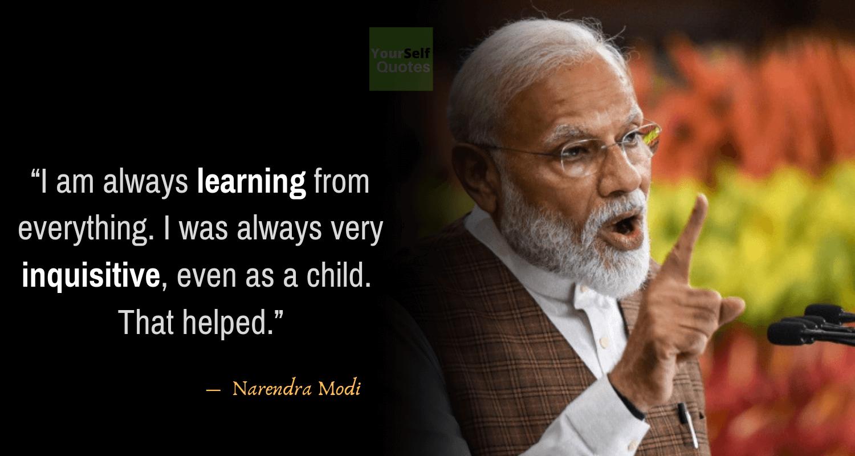 Narendra Modi Quotes on Teachers Day