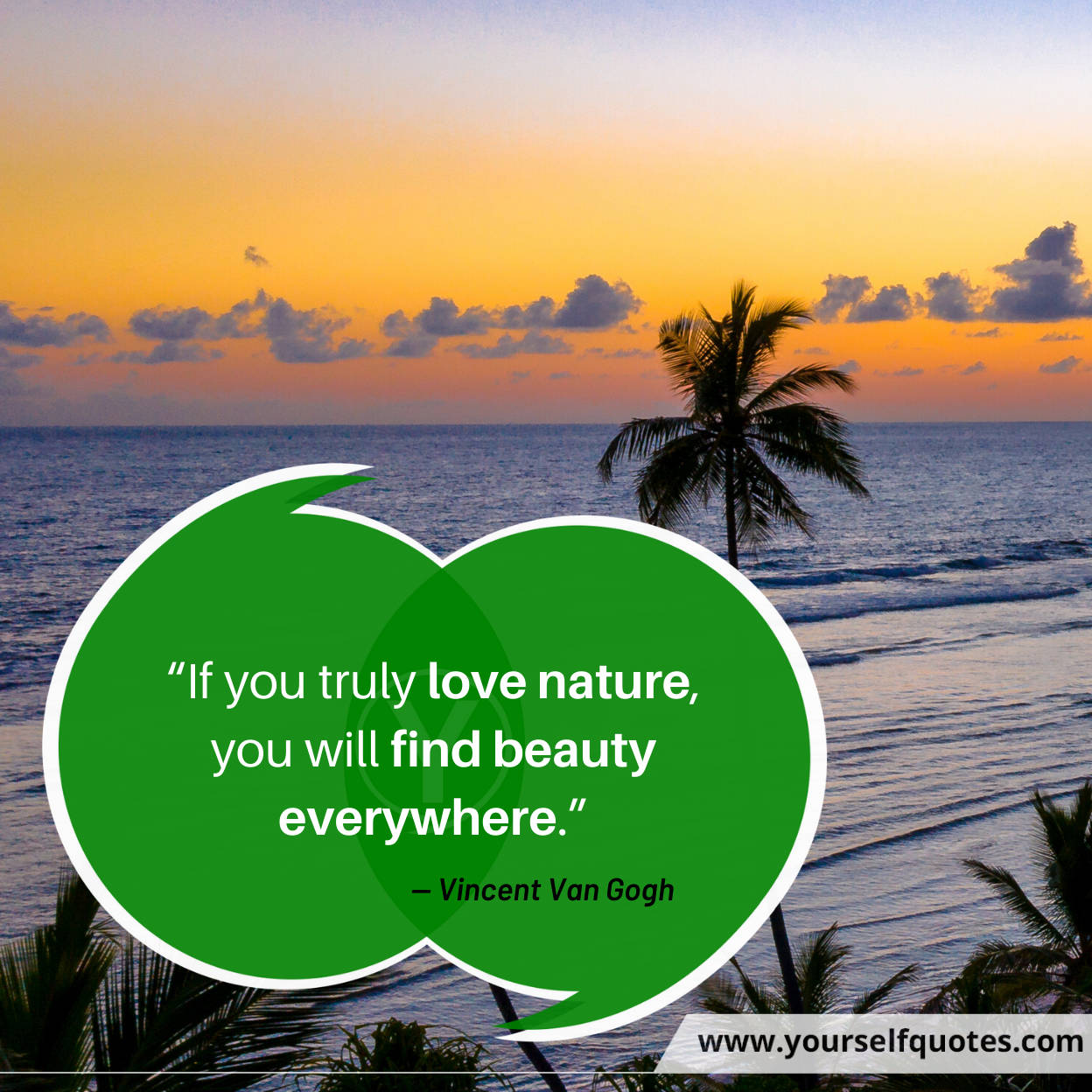 Nature Quotes by Vincent Van Gogh