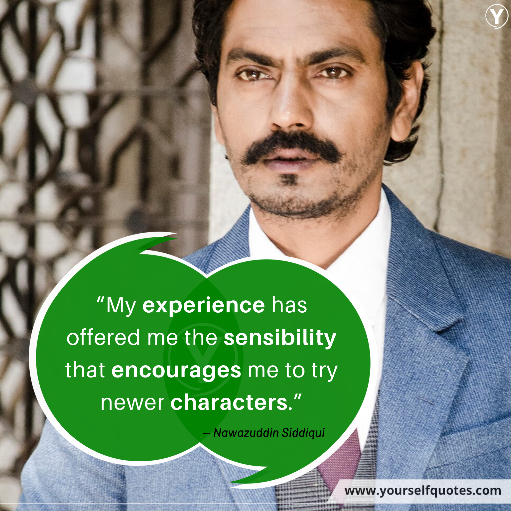 Nawazuddin Siddiqui Quotation