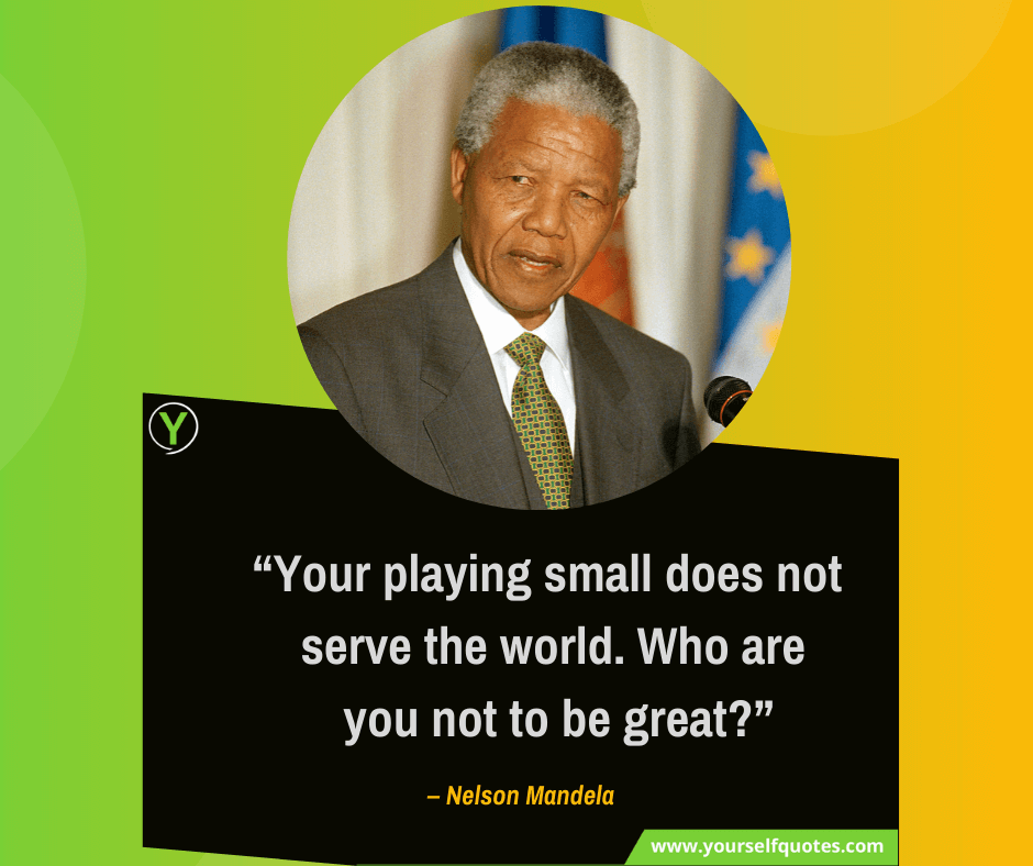 Nelson Mandela Quotes Sayings