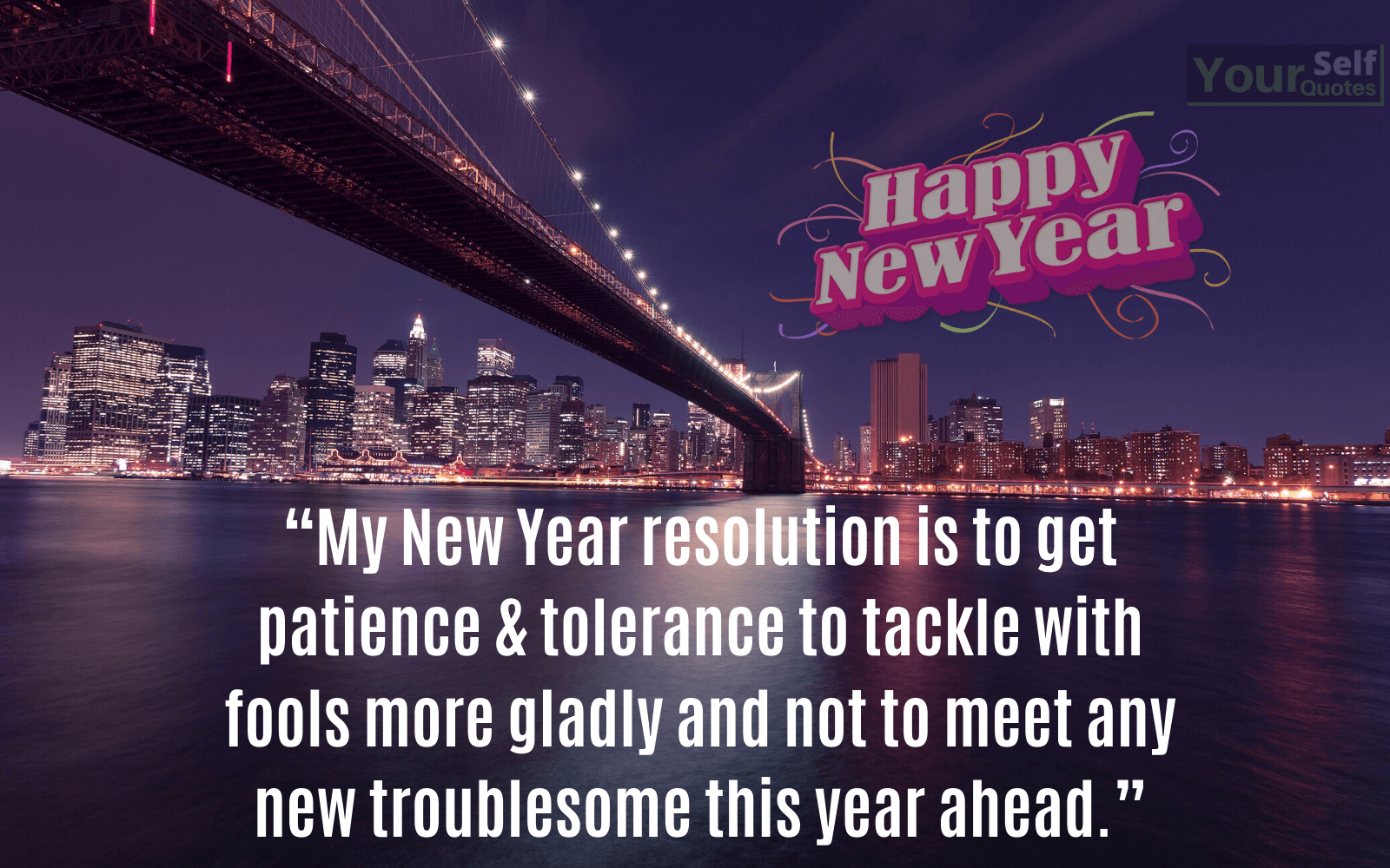 New Year Resolution Quote