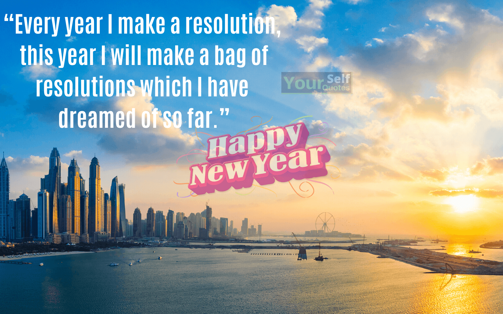 New Year Resolution for Students